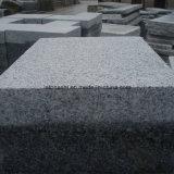 La Cina ha fiammeggiato il granito chiaro di G603 Padang che pavimenta per il pavimento/scala