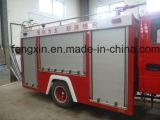 Porte professionnelle de camion de pompiers d'obturateur de rouleau de garantie de tempête