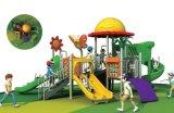 Tema selva em aço inoxidável plástica deslize parque ao ar livre
