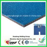 Piste courante en caoutchouc préfabriquée extérieure de résistance UV
