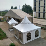 Barraca de alumínio do Pagoda do frame do europeu 6X6m Outodor com telhado do PVC