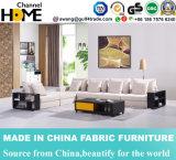 L moderne neuf sofa de tissu de forme, étagère de livre en bois (HC520)
