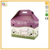 Caixa ondulada personalizada com impressão a cores