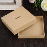 Belle boîte-cadeau de papier personnalisée pour le logo UV de estampage chaud argenté de empaquetage