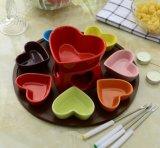 POT caldo del nuovo di disegno &Chocolate di ceramica del formaggio