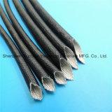 Manicotti e tubi elettrici Braided dell'isolamento del collegare della vetroresina rivestita della resina acrilica