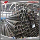 Tubo d'acciaio nero di ERW, Od 21.3-610mm, 9001:2008 di iso, ASTM A53 a/B, BS1387, GB/T3091