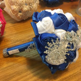 La boda de Rose del satén florece el ramo nupcial
