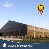 Grande barraca militar em PVC de alumínio (LS30 / 4.0-5)
