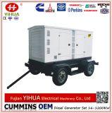 Schlussteil! Eingehangen mit Rad-beweglicher Schlussteil-Cummins-elektrischem Dieselgenerator