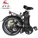 """TUV 20"""" из алюминиевого сплава рамы 250 W электрический складной велосипед (JSL039W-6)"""