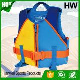 Новый спасательный жилет неопрена детей конструкции (HW-LJ011)