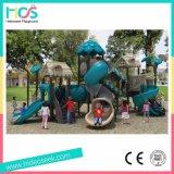 Campo da giuoco di plastica dei bambini del campo da giuoco del campo da giuoco di plastica esterno (HS09601)