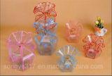 Blumen-Korb-Form6 Jiao-Hochzeits-Geschenk Belüftung-Kasten