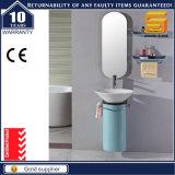 La porcelaine sanitaire Salle de bains de peinture laquée MDF armoire avec miroir
