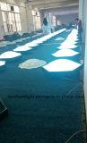 el panel de pared de la bola del panal de la luz 3D de la decoración de la visión 3D