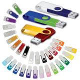Impression neuve de logo de crayon lecteur de mémoire de bâton de flash USB d'émerillon la meilleur marché