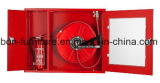 Molinete de Mangueira de Incêndio & Gabinete Extintor/Metal Armário de Duas Portas