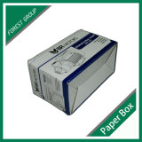 Boîte à carton imprimé en papier Kraft