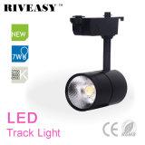 Spur-Licht des PFEILER 7W Schwarz-LED mit Ce&RoHS LED heller Lampe