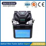 Surtidor de China de la encoladora de la fusión óptica de la máquina de la fibra caliente de la venta que empalma