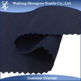 75D*150d tejido imitó la tela 100% de la chaqueta del poliester de Softshell de la memoria para la ropa