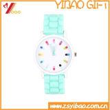 Relógio de silicone colorido colorido de alta qualidade (YB-AB-035)