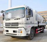 Dongfeng 6은 최신 판매 10 톤 하수 오물 흡입 트럭 10 Kl 진공 트럭 선회한다