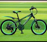 新式のアルミ合金フレームMTBのマウンテンバイク
