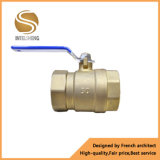 Válvula de bola de latón de globo de manija de palanca forjada Dn15-Dn50