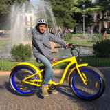 26 bicicleta elétrica gorda Ebike do pneu MTB da roda 500W da polegada