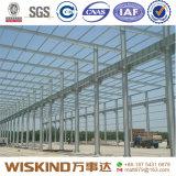 Struttura d'acciaio prefabbricata dell'ampia luce per il magazzino