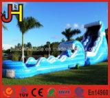Kundenspezifisches aufblasbares Wasser-Plättchen mit Pool für Verkauf