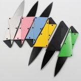 小型小型のカードのサイズの猟刀の屋外のキャンプの折る存続のナイフ