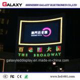 광고를 위한 높은 광도 P4/P6.67/P8/P10/P16 에너지 절약 옥외 풀 컬러 조정 발광 다이오드 표시 스크린