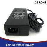 Электропитание 12V 8A переключения СИД