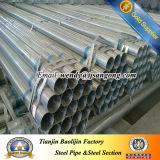 Tubulação galvanizada do aço de carbono de JIS G3444 Q235 Stk500