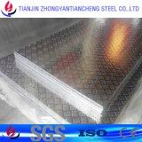 건물을%s 알루미늄 격판덮개 주식에 있는 돋을새김된 1060 5052 Almg2.5 알루미늄 격판덮개