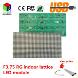Rg F3.75 Módulo de exibição de LED interno 64X32 Pixels Size é 304X152mm 1/16 Scan