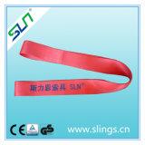 GS sans fin de la CE de Sln de 6:1 de facteur de sûreté de bride de sangle de polyester de 5t*10m