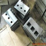 Lâminas de corte do metal na indústria de aço