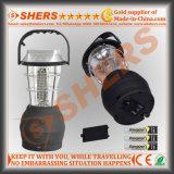 Luz de acampamento solar de 60 diodos emissores de luz com o dínamo que pôr em marcha, USB (SH-1991)