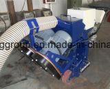 Calcestruzzo, ponticello, macchina di granigliatura del fondo stradale