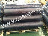 Lo strato flessibile del PVC della radura con il DOP libera