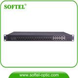 FTTH 1.25gbps 8 SFP Epon 8 Pon 운반 Olt