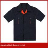 Breve uniforme di usura di sicurezza del manicotto di alta qualità per estate (W101)