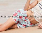4 Möglichkeits-Gewebe-schnell trockene Strand-Abnützung, Vorstand-Kurzschlüsse für Frauen/Dame