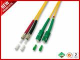 3.0mm Optische Kabel van de Vezel van Sc LC Singlemode