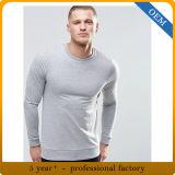 관례 100%년 면 Mens 대원 목 스웨트 셔츠
