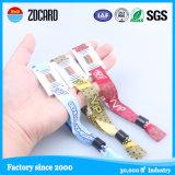 Wristband tessuto tessuto di NFC RFID per l'evento del partito di festival